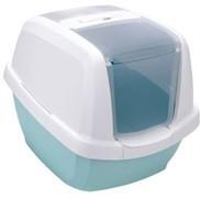 IMAC био-туалет для кошек MADDY 62х49,5х47,5h см, белый/цвет морской волны