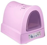 IMAC био-туалет для кошек ZUMA 40х56х42,5h см, пепельно-розовый