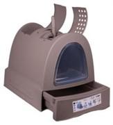 IMAC био-туалет для кошек ZUMA 40х56х42,5h см, серо-бежевый