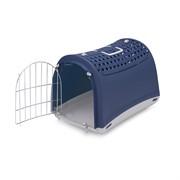 IMAC переноска для кошек и собак LINUS CABRIO 50х32х34,5h см, голубой