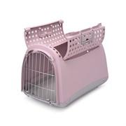 IMAC переноска для кошек и собак LINUS CABRIO 50х32х34,5h см, нежно-розовый
