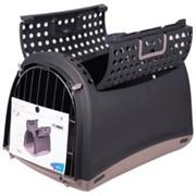 IMAC переноска для кошек и собак LINUS CABRIO 50х32х34,5h см, антрацит