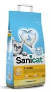 Sani Cat впитывающий наполнитель без аромата, Classic Unscented 7.5 кг