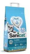 Sani Cat комкующийся антибактериальный наполнитель с активным кислородом и ароматом марсельского мыла, Oxygen Power Clumping  6 кг