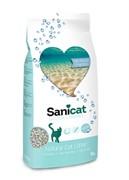 """Sani Cat впитывающий наполнитель """"Контроль запаха"""" с ароматом морского бриза, Odour Control 2 кг"""