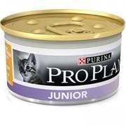 PRO PLAN JUNIOR для котят, паштет с курицей