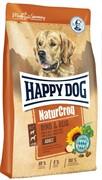 Корм для собак Happy Dog NaturCroq, говядина, с рисом 15 кг