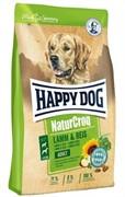 HAPPY DOG корм д/с Натур.крок ягненок/рис