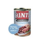 Влажный корм для собак RINTI KENNERFLEISCH mit Geflügelherzen Птичьи сердечки 0,4 кг