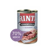 Влажный корм для собак RINTI KENNERFLEISCH mit Schinken Ветчина 0,4 кг