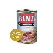 Влажный корм для собак RINTI KENNERFLEISCH mit Pute Индейка 0,4 кг
