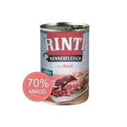 Влажный корм для собак RINTI KENNERFLEISCH JUNIOR Junior +  Rind Юниор Говядина для юниоров с 7 до 18 месяцев 0,4 кг