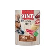Влажный корм для собак RINTI LEICHTE BEUTE Rind Pur + Lamm Говядина и ягненок 0,4 кг