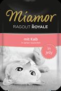MIAMOR RAGOUT mit Kalb Телятина кусочки в желе Пауч  корм для кошек  0,1 кг