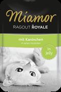MIAMOR RAGOUT mit Kaninchen Кролик кусочки в желе Пауч  корм для кошек 0,1 кг