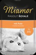 MIAMOR RAGOUT mit Pute Индейка кусочки в желе Пауч  корм для кошек  0,1 кг