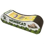 "Homecat когтеточка ""Мятная волна"", гофрокартон, 38*12*9 см"