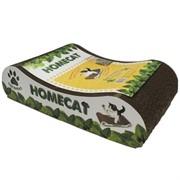 "Homecat когтеточка""Мятная волна"", гофрокартон, 41х24х10 см"