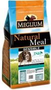 MEGLIUM BREEDERS корм д/собак с чувствительным пищеварением ягненок/рис 20кг