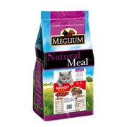 MEGLIUM корм д/кошек говядина 15 кг