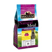 MEGLIUM корм д/кошек стерилизованных курица/рыба 15 кг
