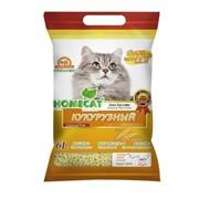 """Homecat кукурузный комкующийся наполнитель """"Эколайн"""", 6 л."""