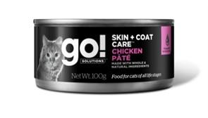 Go! консервы с курицей для кошек всех возрастов