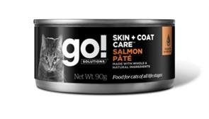 Go! консервы с лососем для кошек всех возрастов