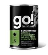 Go! консервы беззерновые с индейкой для собак