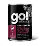 Go! консервы беззерновые с ягненком для собак с чувствительным пищеварением,