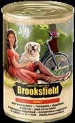 Бруксфилд Adult кон.д/собак Говядина с Индейкой 400г
