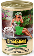 Бруксфилд Adult кон.д/собак Говядина с Уткой 400г
