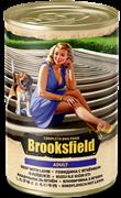 Бруксфилд Adult кон.д/собак Говядина с Ягнёнком 400г