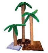 Zooexpress 38082 когтеточка Пальма 75 см джутовая