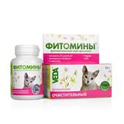 Фитомины д/кошек с очистительным фитокомплексом 50г