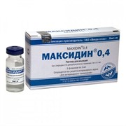 Максидин инъекц. 0.4%  5мл  /5фл/