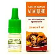 Анандин ушные капли 5мл