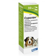 СУРОЛАН суспензия для лечения отитов, фл.30мл