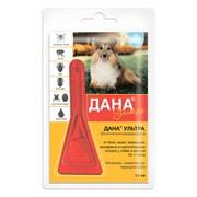Дана Ультра капли на холку (для собак и щенков 10-20 кг),1,6мл