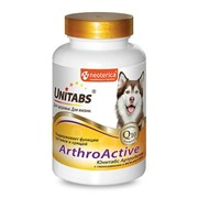 ЮНИТАБС Arthro c Q 10Active Витамины для собак при болезнях суставов 100таб.