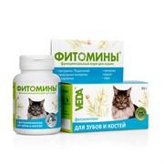 Фитомины д/кошек с фитокомплексом для зубов и костей 50г