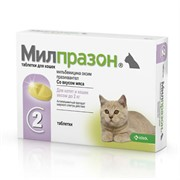 Милпразон таб для кошек 2т 4мг