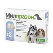 Милпразон таб для собак 2т 2,5мг
