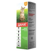 ДАНА Шампунь антипаразитарный д/кошек, фл.140мл
