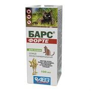 БАРС Форте Спрей инсектоакарицидный д/кошек, 100мл