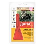 Дана Ультра капли на холку (для кошек более 4 кг), 0,64мл