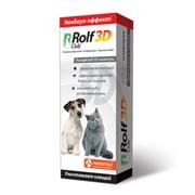 РОЛЬФ КЛУБ 3D Шампунь от клещей и блох для кошек и собак 200 мл
