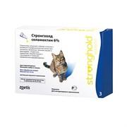Стронгхолд  6% 0,75мл (45мг для кошек 2,6-7,5 кг №3)