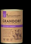 Grandorf консервы для собак Дикий Кабан c Индейкой
