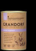 Grandorf консервы для собак Кролик с Индейкой